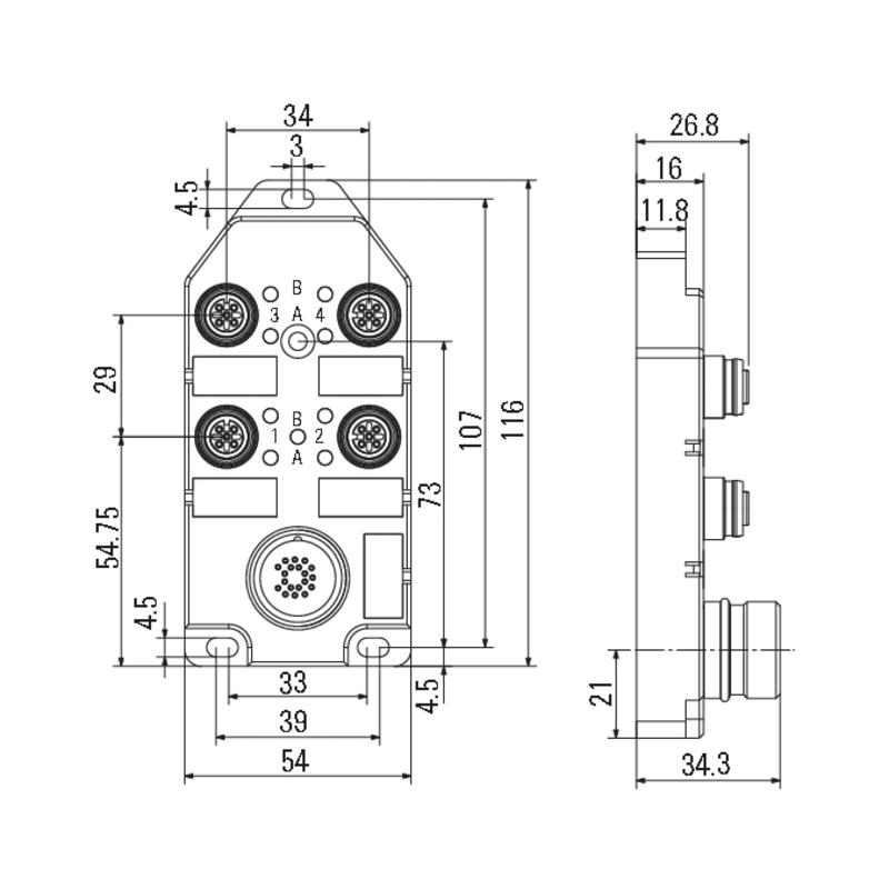 SAI-4-S 4P FC