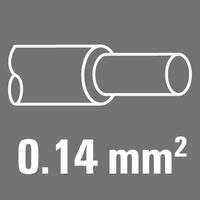 Leiter-Nennquerschnitt 0,14 mm²