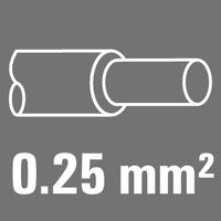 Leiter-Nennquerschnitt 0,25 mm²