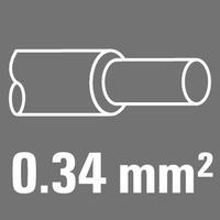 Leiter-Nennquerschnitt 0,34 mm²