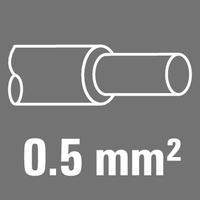 Leiter-Nennquerschnitt 0,5 mm²